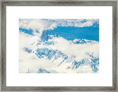 The Fitz Roy Framed Print by Andrew Matwijec