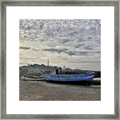 The Fixer-upper, Brancaster Staithe Framed Print by John Edwards