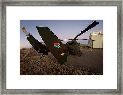 Framed Print featuring the photograph The Flag by Paul Job