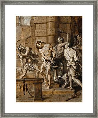 The Flagellation Framed Print