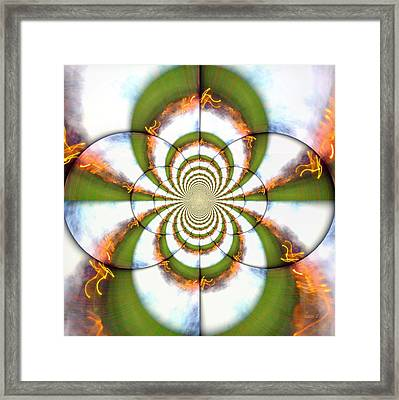 The Flame Died But Never My Light Framed Print