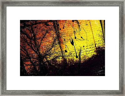 The Flaxen Eve Framed Print by Gary Bodnar
