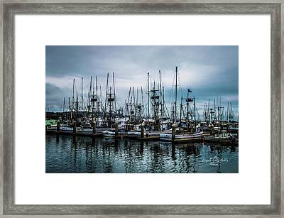 The Fleet Framed Print