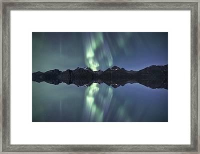 The Flip Side Framed Print by Tor-Ivar Naess