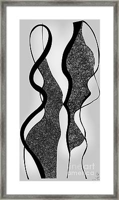 The Flirt Framed Print by Gabriela Tasiro