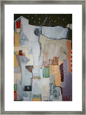 The Flock Framed Print by Sherry Leigh Williams