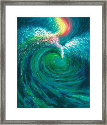 The Flood And The Covenant Framed Print