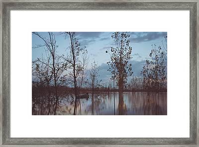 The Flood Framed Print by Cesare Bargiggia