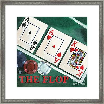 The Flop Framed Print by Debbie DeWitt