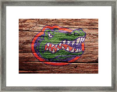 The Florida Gators 1a Framed Print by Brian Reaves