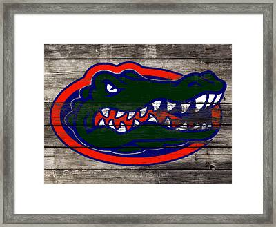 The Florida Gators 3a Framed Print by Brian Reaves