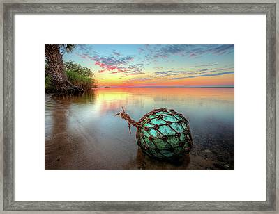 The Florida Keys Framed Print by JC Findley