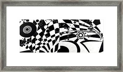 The Flow Of Life Framed Print by HPrince De Artist