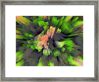 The Flower Factory 2 Framed Print by Moustafa Al Hatter