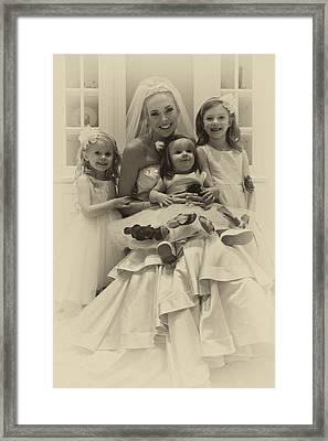The Flower Girls Framed Print by David Patterson