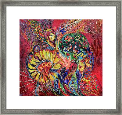 The Flowering Framed Print by Elena Kotliarker