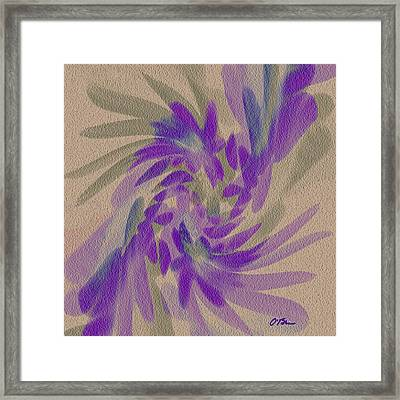 The Flowers And The Ghosts Framed Print