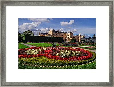 The Flowers Heaven. Czech Lednice Framed Print