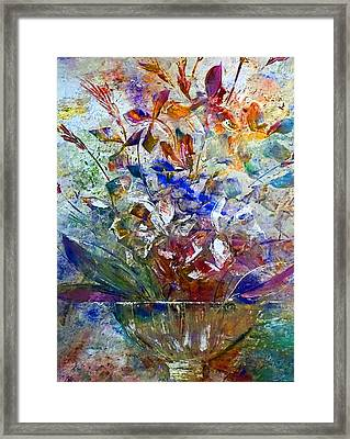 The Flowers Of Education Framed Print