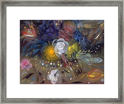 The Flowers Of Little Ida Framed Print by Annael Anelia Pavlova