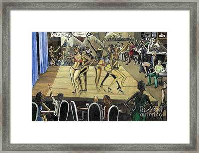 The Fly Girl Beauty Contest Framed Print by Toni  Thorne