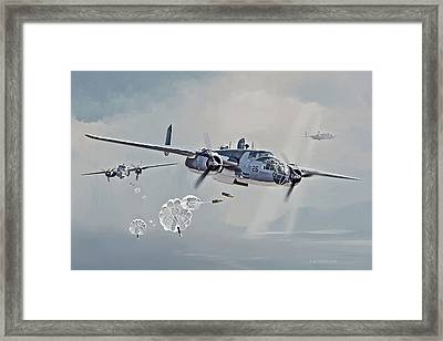 The Flying Nightmares Framed Print