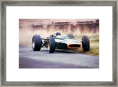 The Flying Scot Framed Print by Peter Chilelli