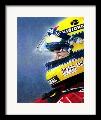 Formula One Framed Prints