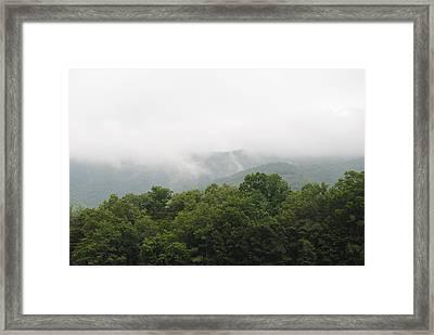 The Fog Framed Print by Christopher Rohleder