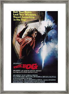 The Fog, Jamie Lee Curtis, 1980 Framed Print