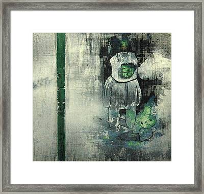 The Fog Framed Print by Konrad Geel