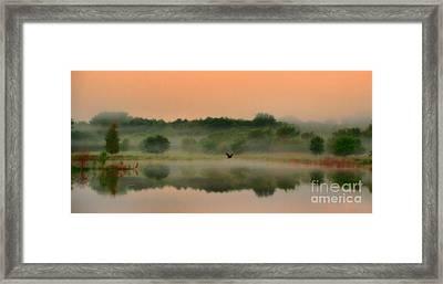 The Fog Of Summer Framed Print