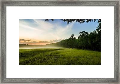 The Fog Of War Framed Print