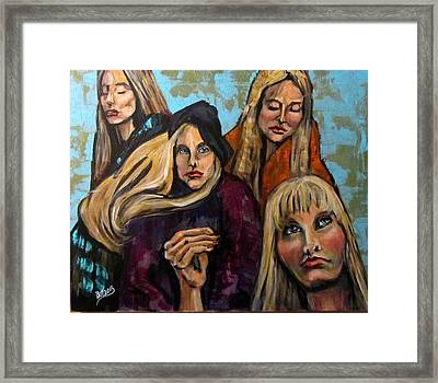 The Folk Singer Framed Print