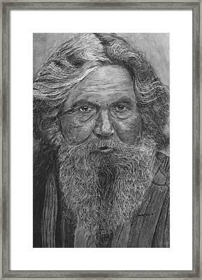 The Folk Singer Framed Print