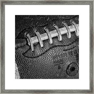 The Football 2 Framed Print by David Patterson
