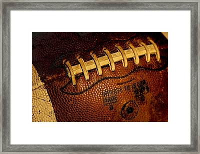 The Football 3 Framed Print by David Patterson
