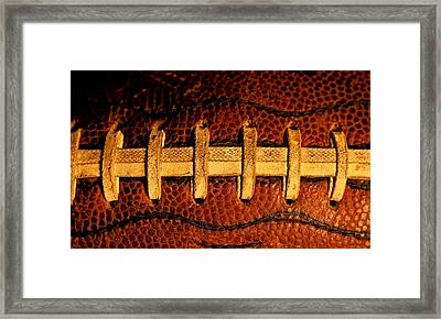 The Football 5 Framed Print by David Patterson