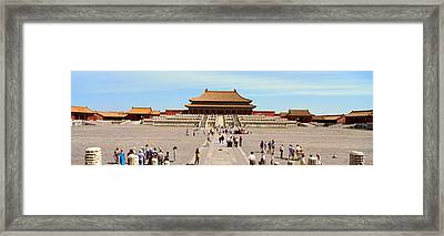 The Forbidden City - Tai He Dian Hall Framed Print by Panoramic Images