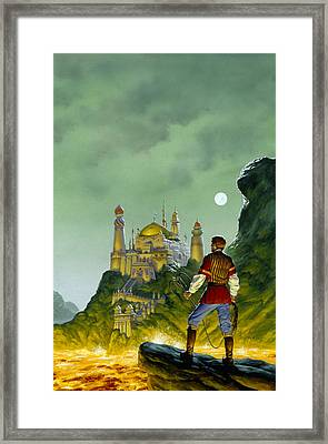 The Forbidden Palace Framed Print by Richard Hescox
