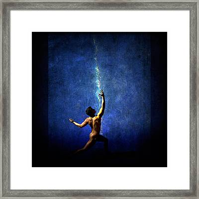 The Force Framed Print by Michael Taggart