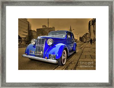 The Ford Pilot Framed Print by Rob Hawkins