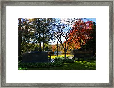 The Fords - Woodlawn Cemetery Framed Print by Michael Rucker