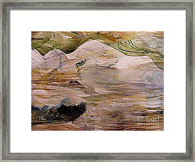 The Forest Camp Framed Print by Nancy Kane Chapman
