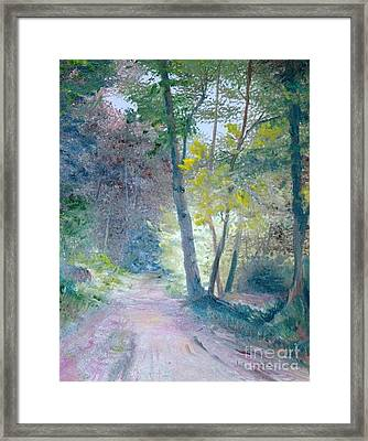 The Forest Framed Print by Judy Groves