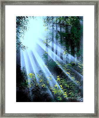 The Forest01 - E Framed Print