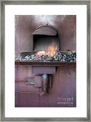 The Forge Framed Print