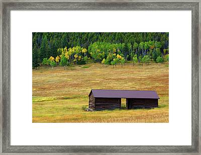 The Forgotten Barn Framed Print by John De Bord