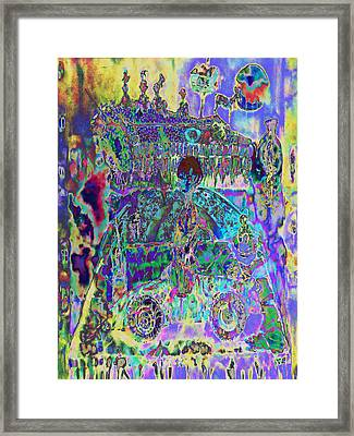 The Forgotten Living Room.   559 Framed Print by A Barvani