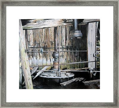 The Forgotten Mill Framed Print by Duncan  Way